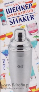 Shaker Gipfel Comely 350ML 6263