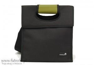 SL - Lunch bag, czarno-zielony, Smart Cover