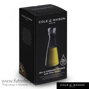 Butelka Cole&Mason do octu/oliwy 200ML H103489