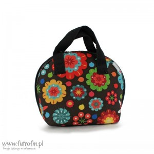 SL - Lunch bag Flower Power, Smartsoft Rubber