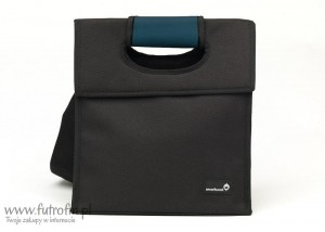 SL - Lunch bag, czarno-niebieski, Smart Cover