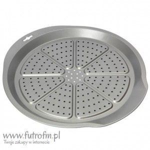Forma Swift do pieczenia pizzy srebrna 38,5cm SW-17804028
